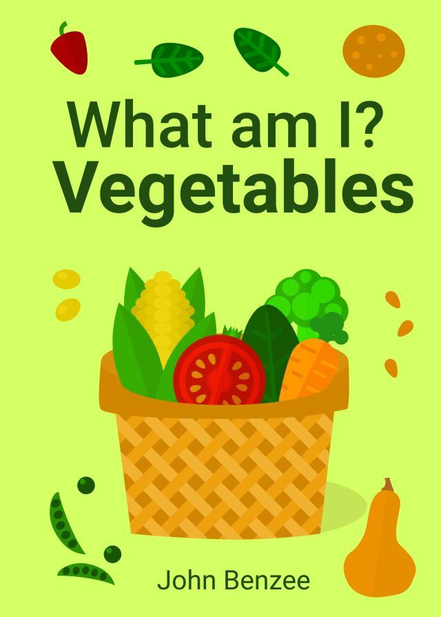 What am I? Vegetables cover