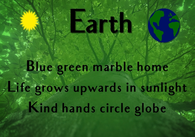 earth haiku poem